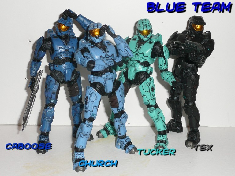 BLUE TEAM by Pzazzelgraff