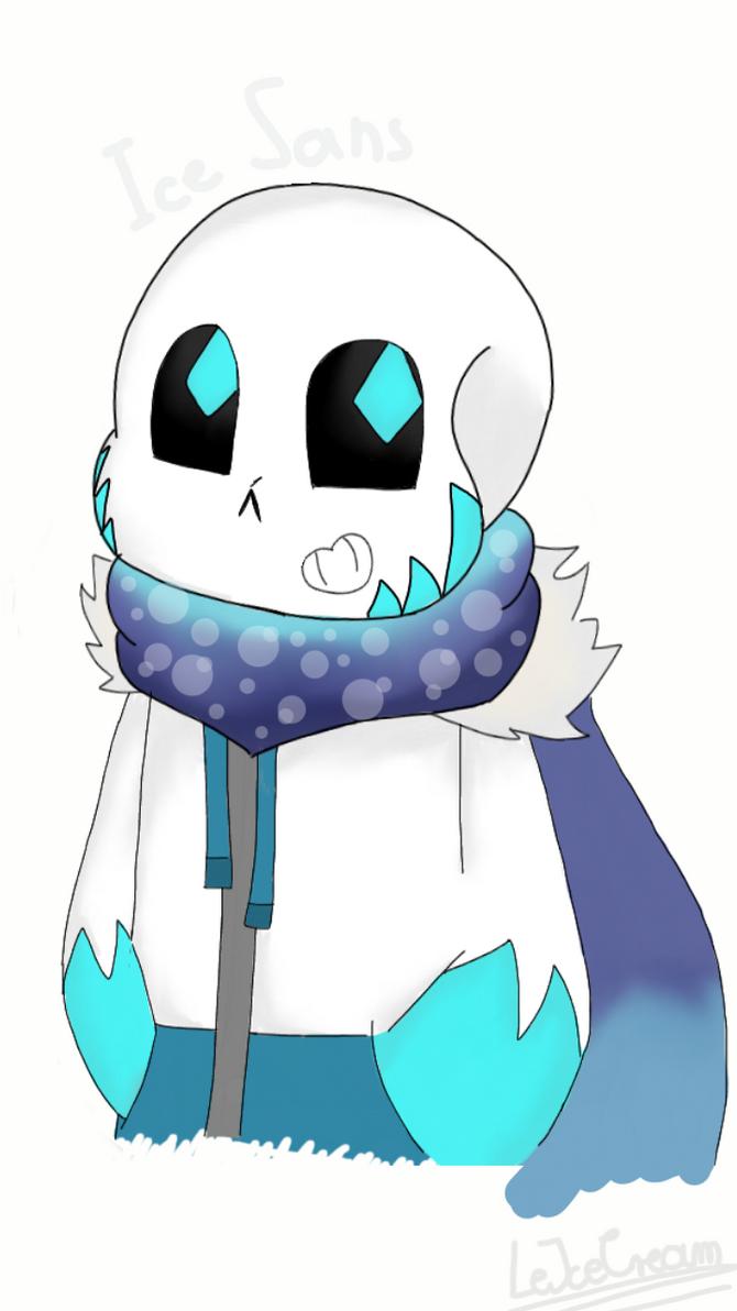 Ice!Sans by FallenQueenie