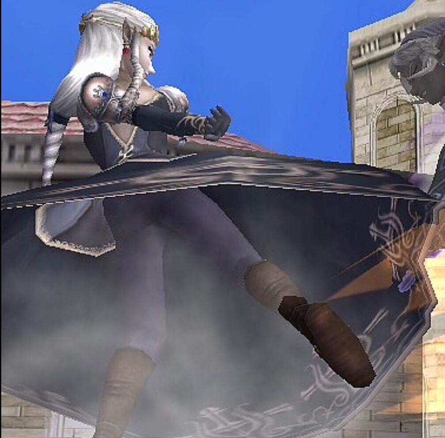 Zelda Upskirt 80