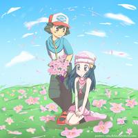Pearl - Flower Field by pcerise