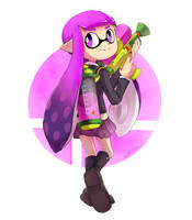 Smash Ultimate - Inkling