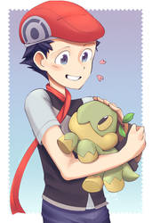 Lucas and Turtwig