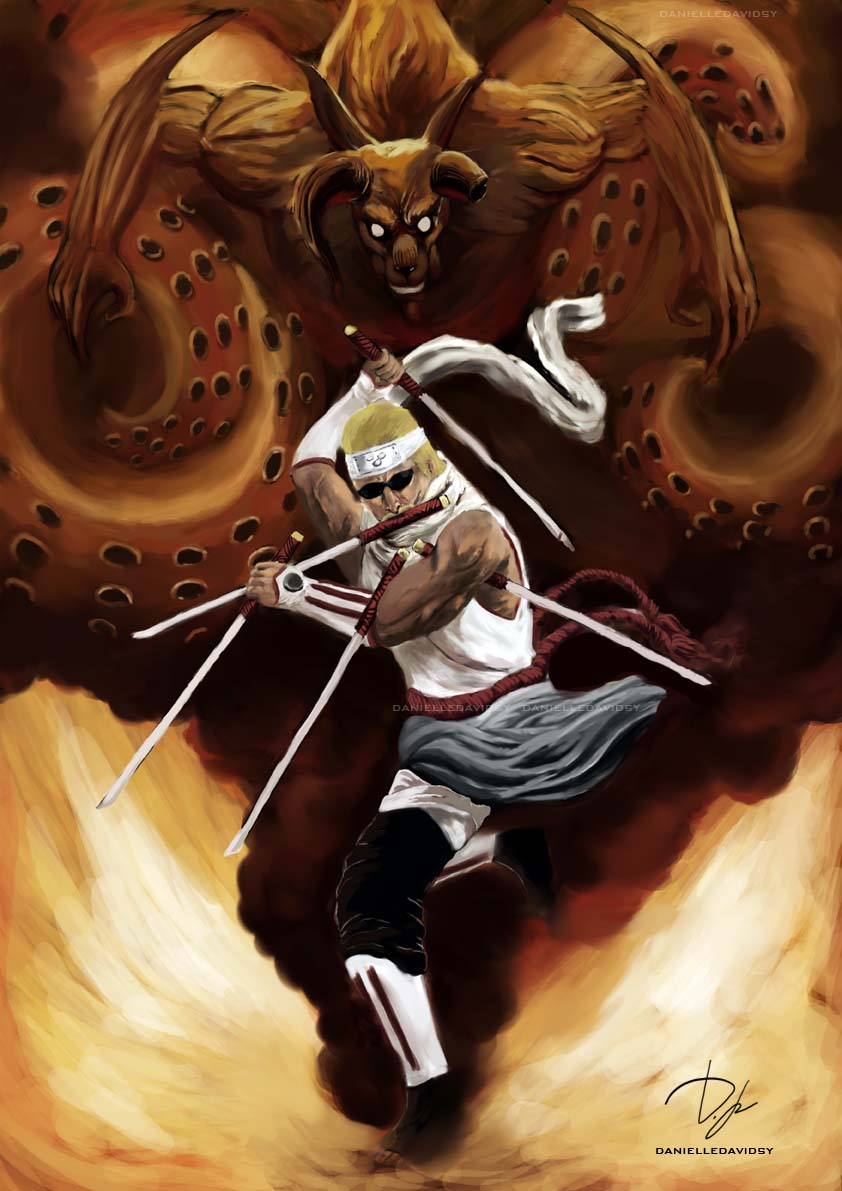 Grandes Imágenes de Anime y Manga  - Página 5 Eight_Tailed_Killer_Bee_by_four_corners