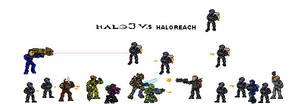 Halo 3 vs Halo Reach