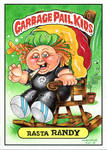 2014 Garbage Pail Kids Custom Rasta Randy