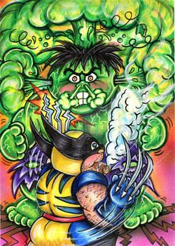 Final Hulk vs Wolverine GPK