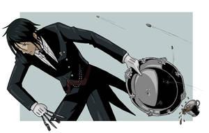 Sebastian - Kuroshitsuji by crashingwave