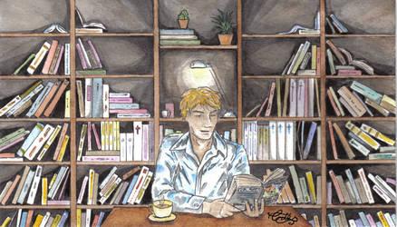 Good Omens - Angel's Bookshop