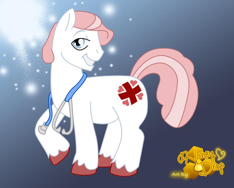 Nurse Redhoof by Honey-Drop
