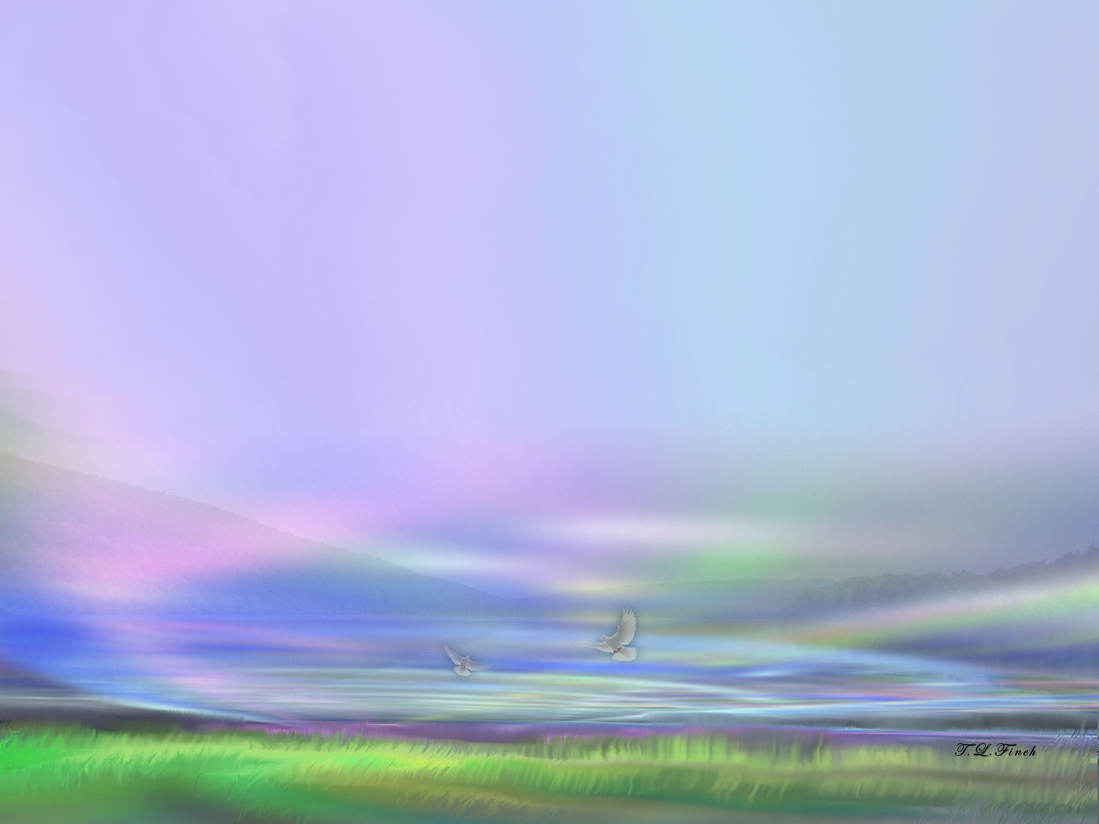 Mystic Lake by TLFinch