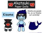 Kisame Paper Doll