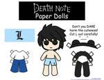 L paper Doll