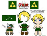 Link Paper Doll