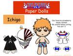 Ichigo Paper Doll