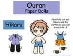 Hikaru Paper Doll