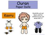 Kaoru Paper Doll
