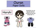 Haruhi Paper Doll