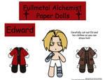 Ed Paper Doll