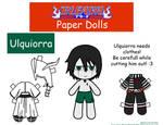 Ulquiorra Paper Doll