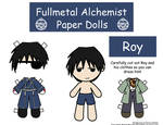 Roy Paper Doll