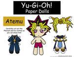 Yami Yugi Paper Doll