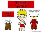 Vash paper doll