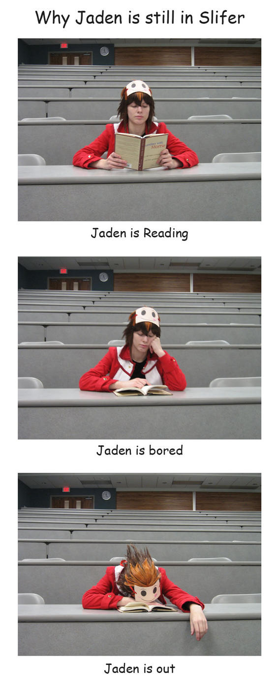 Why Jaden is still in Slifer by Malindachan