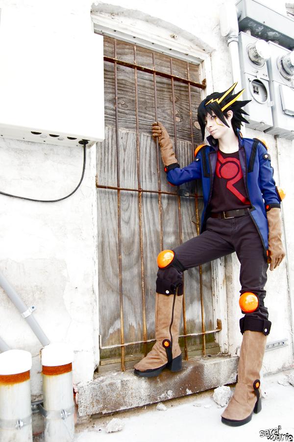 Photos de beaux cosplay  (perso masculin)  trouvés sur le net - Page 3 Yusei_Fudo__Jailbreak_by_Malindachan