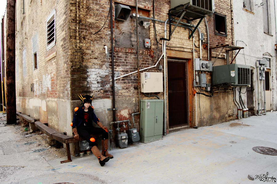 Yusei Fudo: City Life by Malindachan