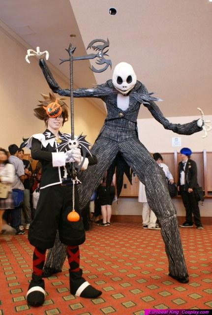 A-kon 2009: Jack and Sora by Malindachan