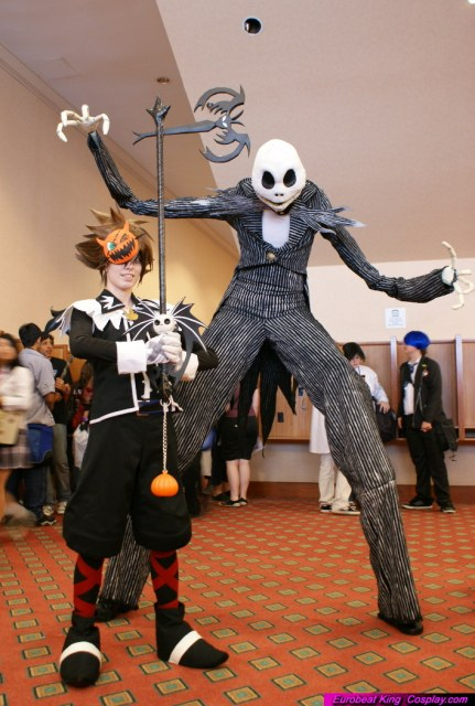 Nightmare Before Christmas Sora.A Kon 2009 Jack And Sora By Malindachan On Deviantart