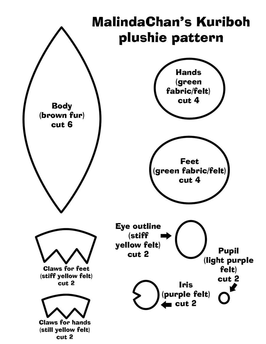 Kuriboh pattern and tutorial