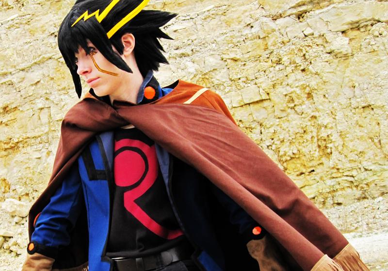 Photos de beaux cosplay  (perso masculin)  trouvés sur le net - Page 3 Yusei_Fudo__Ready_for_Action_by_Malindachan
