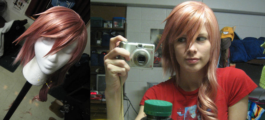Lightning wig commission by Malindachan