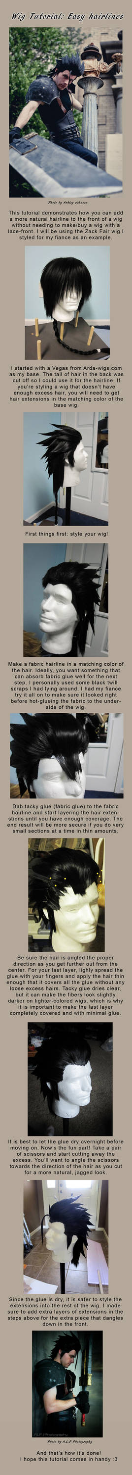 Wig Hairline Tutorial