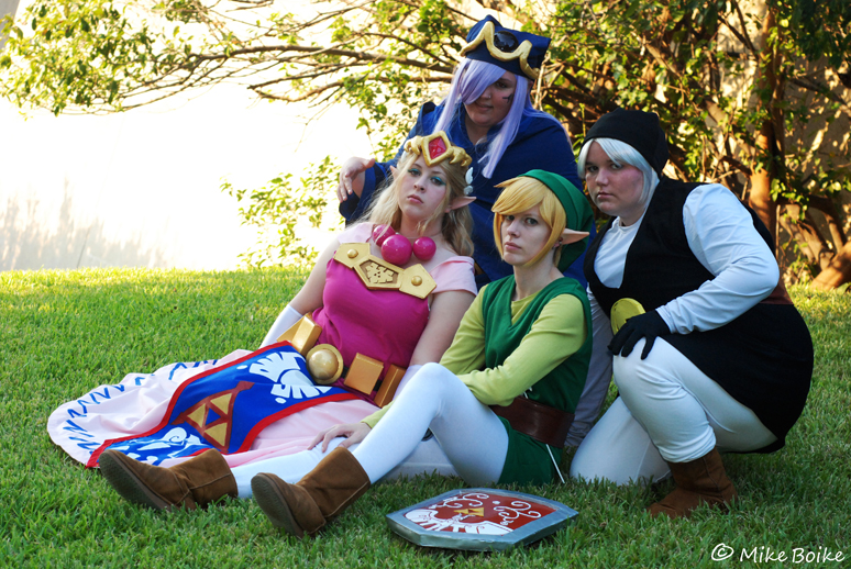 Animefest 2011: Toon Zelda by Malindachan