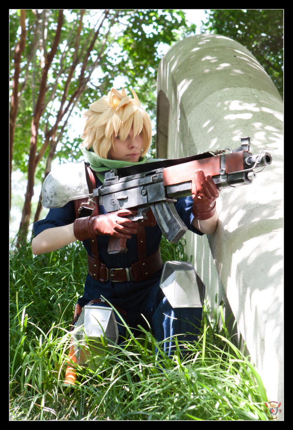 Cloud Strife: Infantryman by Malindachan