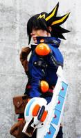 Yusei Fudo: Rev up your deck