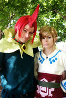 Fanime 2012: Groose and Link by Malindachan