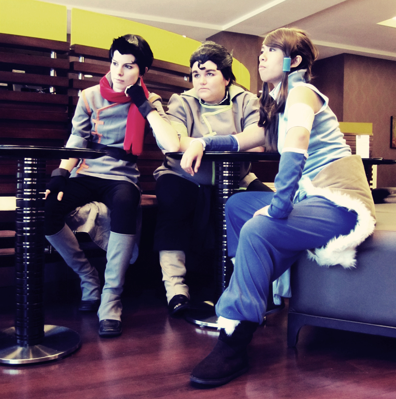 Animefest 2012: Korra Group by Malindachan