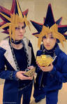 Yami and Yugi: Two halves of the same coin