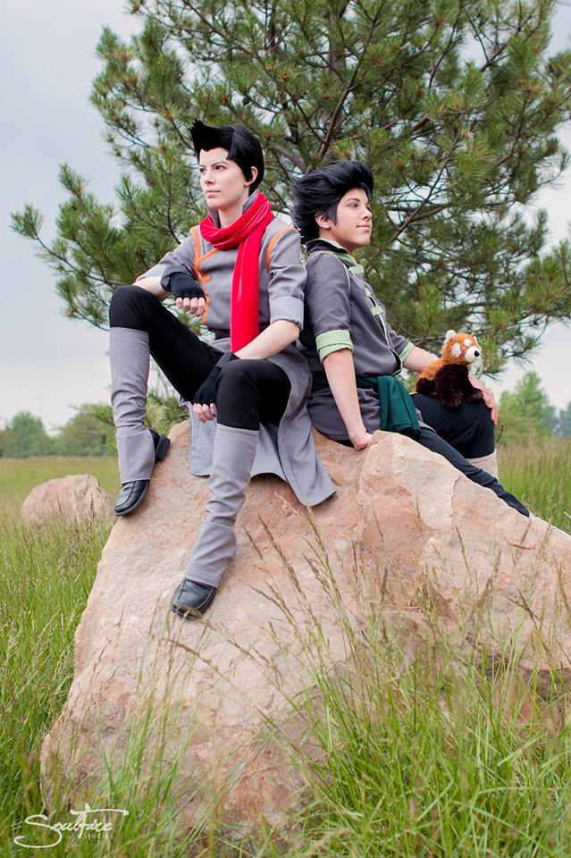 Colossalcon 2013: Mako and Bolin by Malindachan
