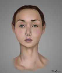 Facial Study April 16