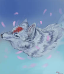 Wolf in the Wind by Tibbles4684