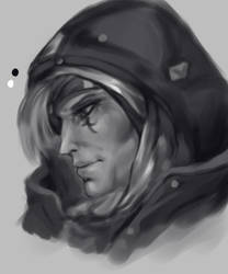 Ana Profile Tone Study by Tibbles4684