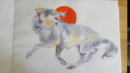 Copic Wolf by Tibbles4684