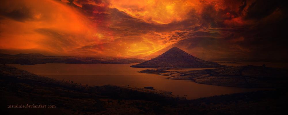 Sky fire by msRainie
