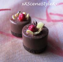 Chocolate Mini Cakes by xXSceneStyleXx