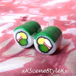 Dragon Roll Plugs by xXSceneStyleXx
