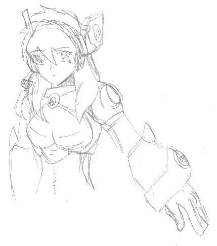 Alia Sketch by BurnerManEXE